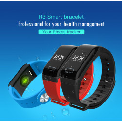 R3 Smart Bracelet Bluetooth 4.0 Sport Pedometer Smart Wristbands Heart Rate Monitor Smart Band IP65 Waterproof