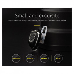 FINEBLUE Stereo Single In-ear Bluetooth 4.1 Earphone Black