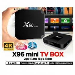 X96 mini TV Box 2GB RAM + 16GB ROM - EU Plug 2GB RAM + 16GB ROM