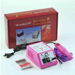 Ηλεκτρικό  μηχάνημαγια μανικιούρ και πεντικιούρ (ροζ)