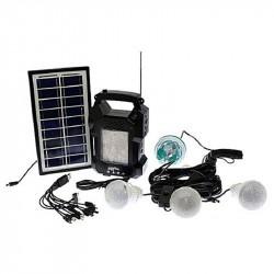 Ηλιακό Σύστημα Φωτισμού & Φόρτισης FM