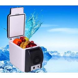 PORTABLE CAR REFRIGERATOR 2-IN-1 COOLING & WARMING