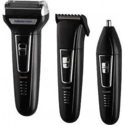3in1 Cordless Rechargeable Shaver, Works as Cordless rechargeable shaver