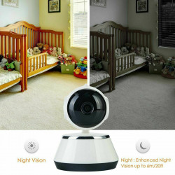 Home Security WiFi IP Camera  for Baby Pet Dog Monitor, phones Tablets Smart HD Webcam